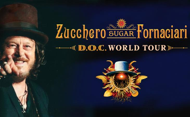 Zucchero: rinviati al 2022 i concerti all'Arena di Verona