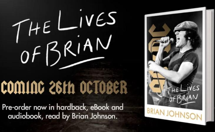 "Brian Johnson: l'autobiografia ""The Lives Of Brian"" in uscita ad ottobre"