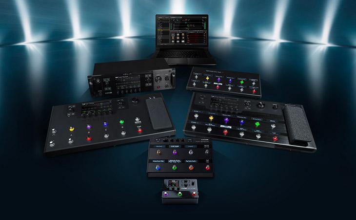 Nuovo firmware per Line6, oversampling per tutta la famiglia di effetti e pedaliere