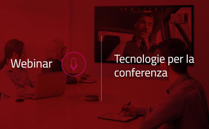 Prase: i webinar di maggio dedicati alle tecnologie per le conferenze