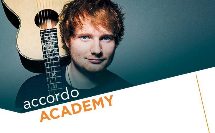 Acustica: l'accompagnamento percussivo di Ed Sheeran