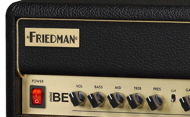 Friedman BE-Mini: hi-gain britannico in miniatura
