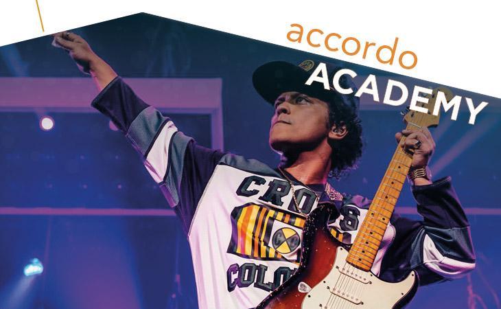 Bruno Mars: l'assolo di