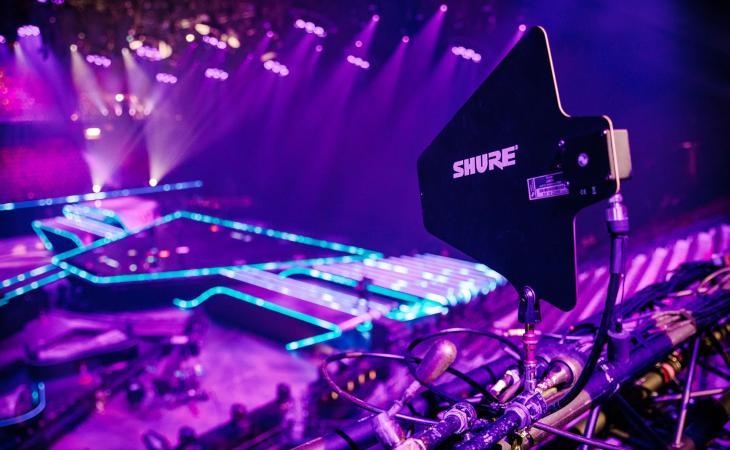 I sistemi Shure per l'Eurovision Song Contest 2021