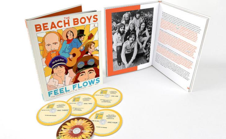 """The Beach Boys: il cofanetto """"Feel Flows: The Sunflower & Surf's Up Sessions 1969-1971"""""""