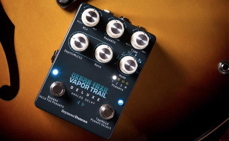 Vapor Trail Deluxe: delay analogico con loop, pitch e preset