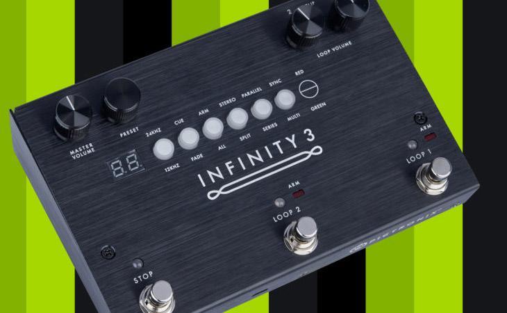 Infinity 3: looper stereo dritto al punto da Pigtronix