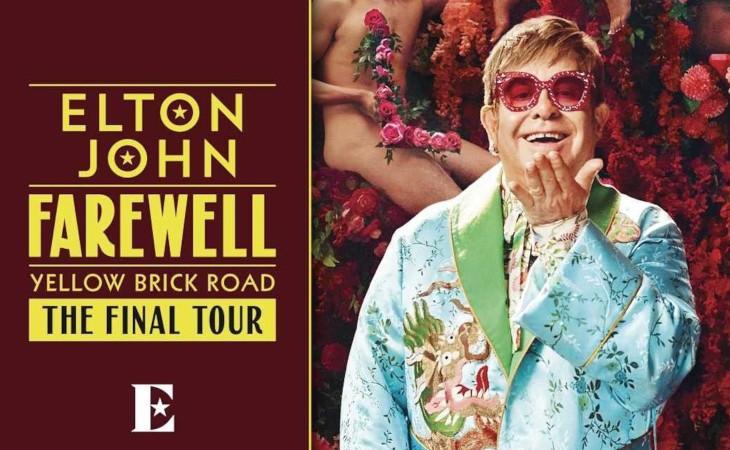 Elton John: il tour Farewell toccherà San Siro nel 2022