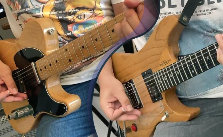 Rock: come doppiare un Riff