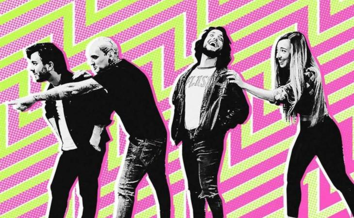 L'onda punk rock dei Crashing Waves