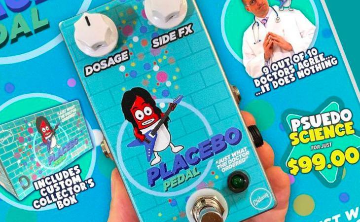 Chibson USA Placebo Pedal: il pedale che fa… niente!