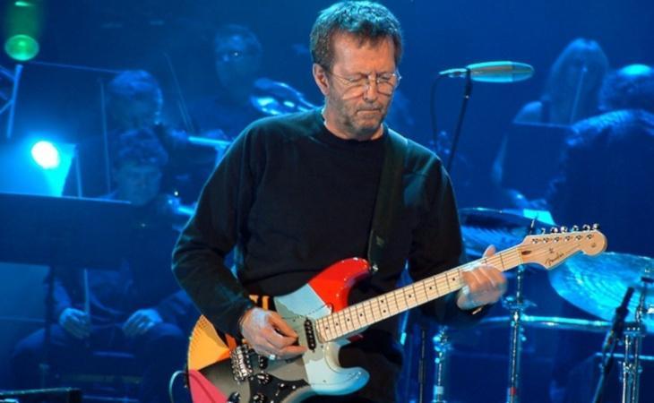 Eric Clapton non terrà concerti per soli vaccinati