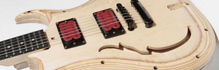 Da Evolution la prima chitarra modulare