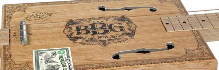 Una cigar box da strapazzo