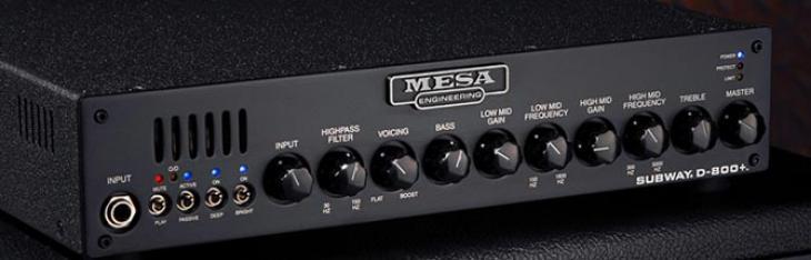 Mesa D800+: 800 watt di flessibilità in 3Kg