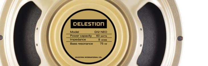 Tono a metà peso: da Celestion i Creamback al neodimio