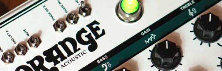 Acoustic Pre: Orange mette le valvole nella chitarra acustica