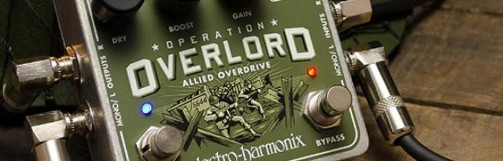Overlord: l'overdrive EHX arriva dalle tastiere