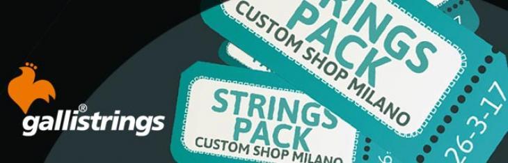 Acquista ora Custom Shop Milano 2017: un cambio corde per te