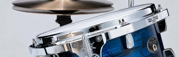 Tama mostra la Silverstar Vintage ltd in tre pezzi