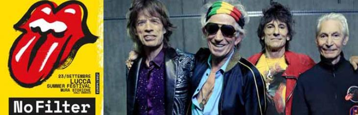 Rolling Stones live a Lucca: il reportage