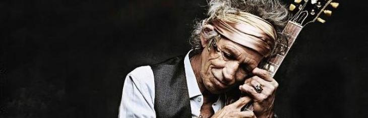 Le chitarre di Keith Richards al No Filter Tour 2017