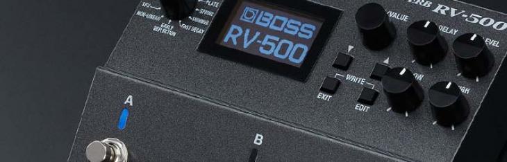 RV500: testato il super riverbero programmabile Boss