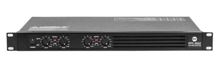 RCF presenta l'amplificatore DPS 604X