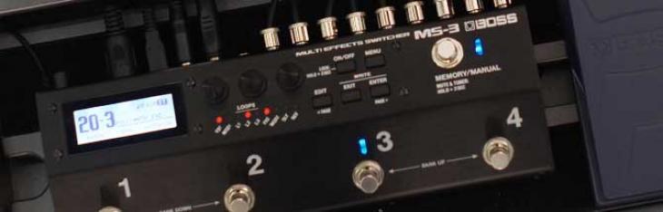 MS-3: in prova il looper-multieffetto Boss
