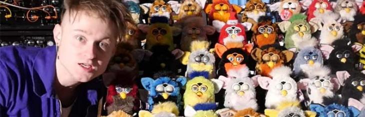 L'organo fatto di Furby e altre follie