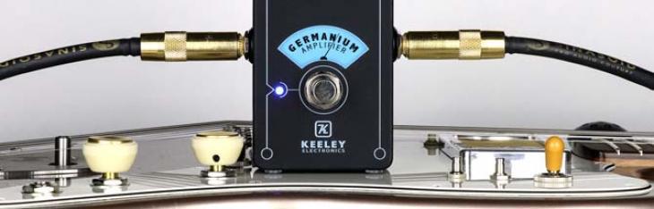 Germanium Amplifier: una manopola per calore d'altri tempi