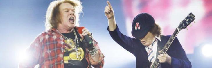 Angus Young e Axl Rose insieme su un nuovo album