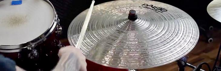 Paiste, Master Dry & Extra Dry Ride: test comparato