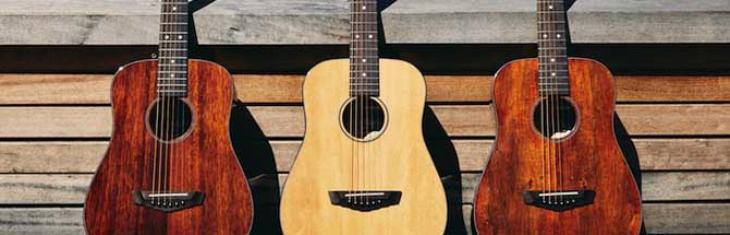 D'Angelico inaugura travel guitar e ukulele