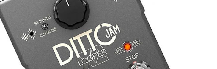 TC Ditto Jam: il looper intelligente che va a tempo con la tua band