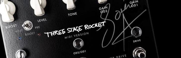 Three Stage Rocket MIDI: l'overdrive programmabile di Søren Andersen