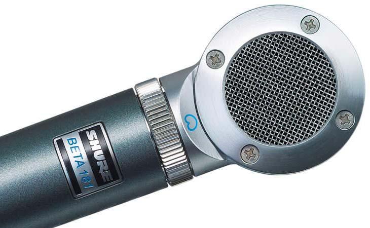 Shure Beta 181 un microfono 1000 usi