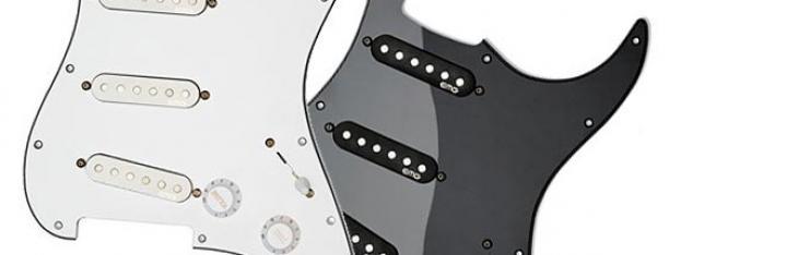 Da EMG due set passivi per Stratocaster senza saldature