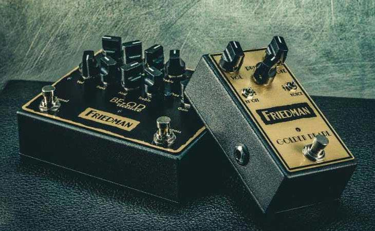Golden Pearl e BE-OD Deluxe: Friedman mostra due nuovi stompbox