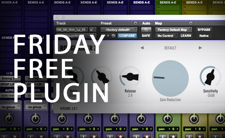 Friday Free Plugin - Audio Damage Rough Rider 2