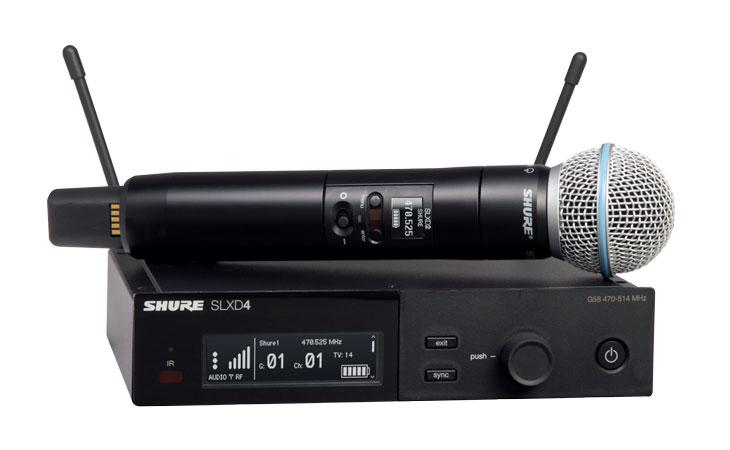 Shure presenta i nuovi sistemi digitali SLX-D