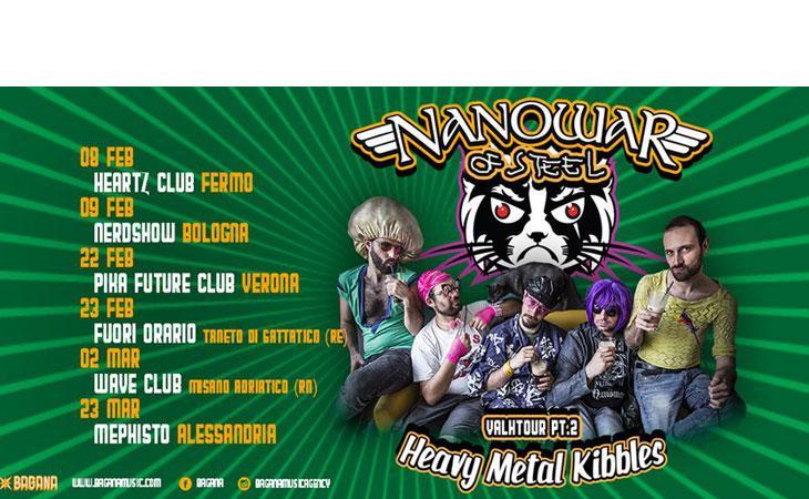Nanowar of Steel: tour e  nuovo videoclip