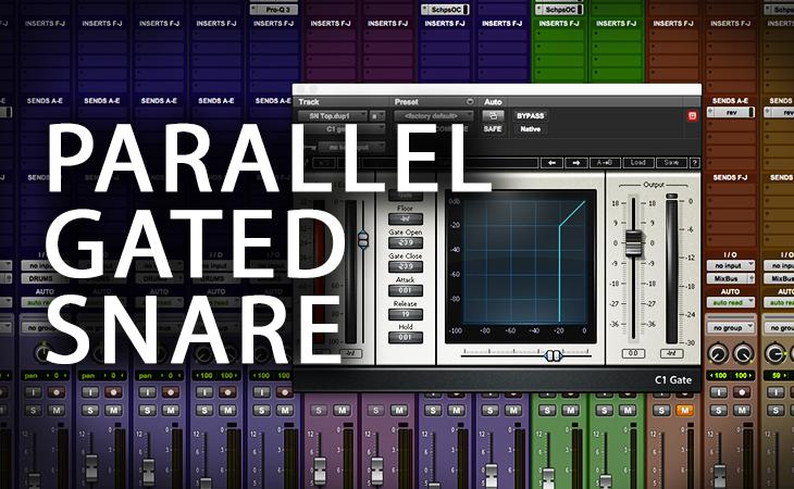 Quick Tutorial - Parallel Gated Snare