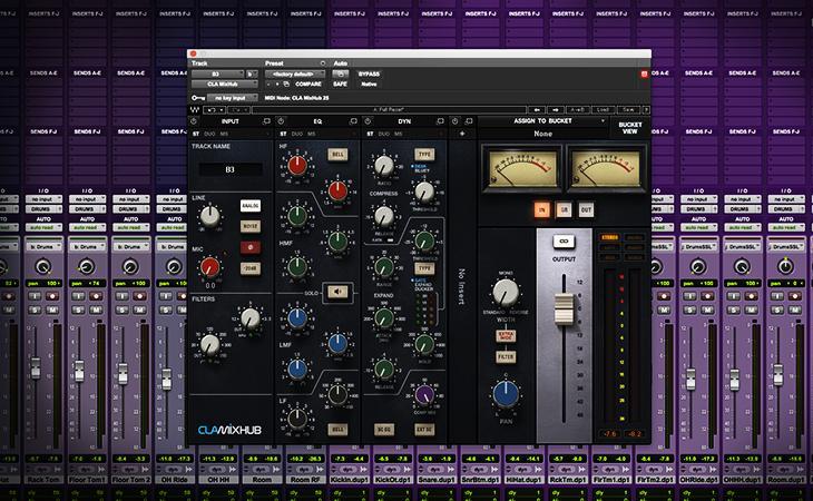 Plugin Tutorial - Waves Audio CLA MixHub
