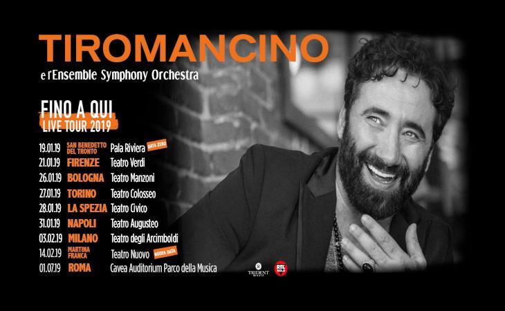 """Tiromancino, nuove date per il tour """"Fino a qui"""""""