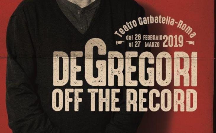 """De Gregori al via domani """"Off the records"""""""