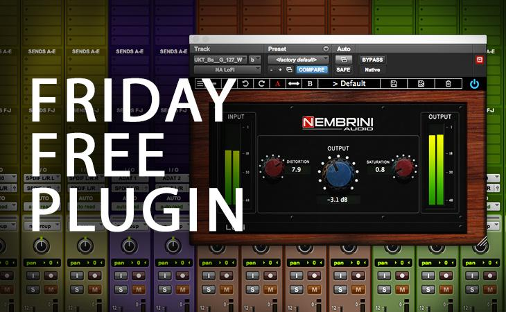 Nembrini Audio LoFi Vintage Clipper plugin
