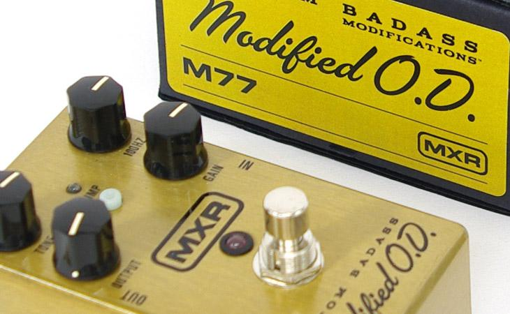 MXR Custom Badass Modified OD: alternativa al TS?
