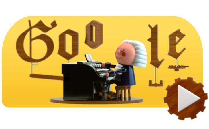 Un Doodle armonizza melodie sullo stile di Bach