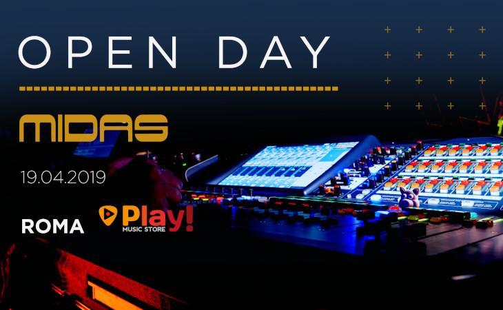 Open day Midas 19 aprile